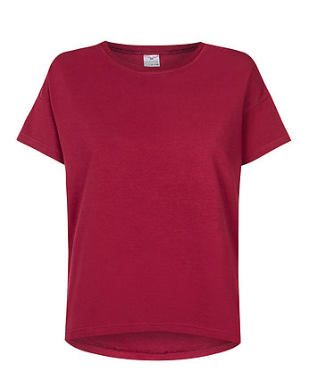 Red Pear, T-shirt basic BORDO
