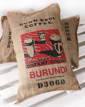 do domu, Poducha - Burlap Coffee Bag - Burundi