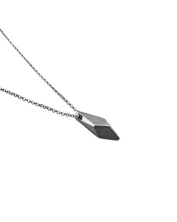Biżuteria, ONE EDGE / BLACK silver necklace