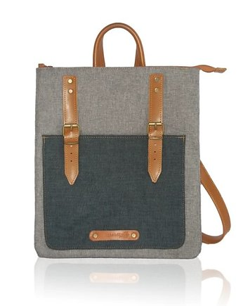 CITY backpack grey/blue