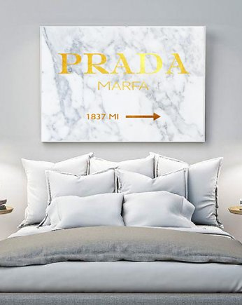 PLAKAT PRADA MARFA fashion
