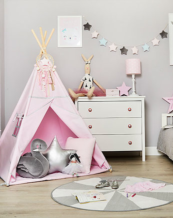 Fun with Mum, Namiot Tipi - Silver Pink