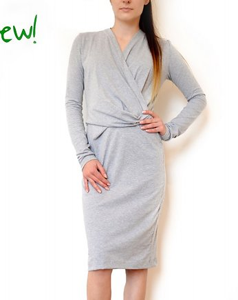 Sukienka V NECK DRESS