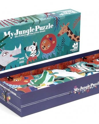 dżungla, MY JUNGLE Puzzle progresywne