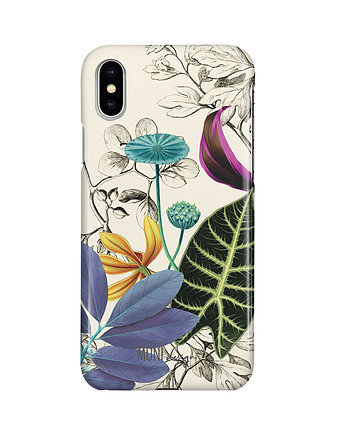 ETUI NA IPHONE, Vintage Flora, iPhone X/Xs