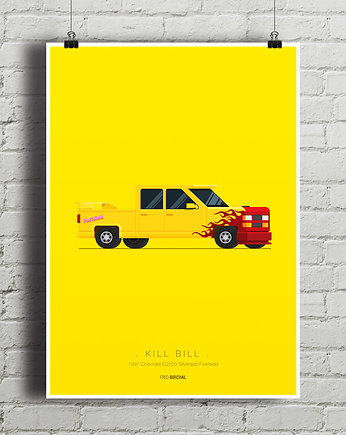 Kill Bill - Chevrolet Silverado - plakat