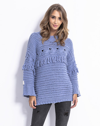 swetry, Sweter Chunky knit F820
