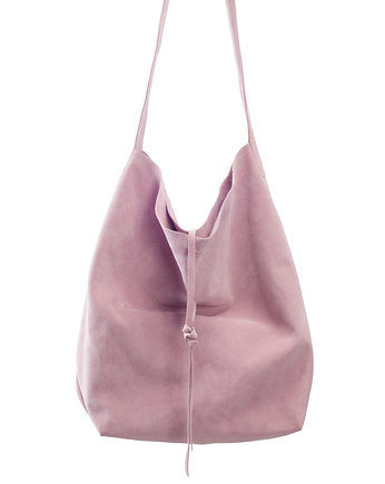 Mellow Rose, Torba shopper pudrowy róż