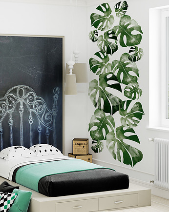 humptydumptyroomdecoration, Tapeta młodzieżowa Monstera Leaf