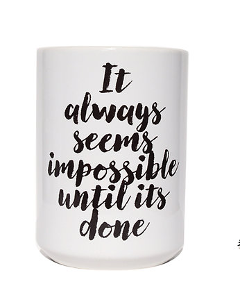 do kawy, It always seems impossible, kubek 450ml