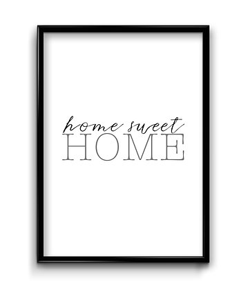 Bury Lis, Home sweet home- plakat