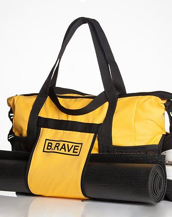 torba na fitness, B.RAVE Sports Bag Juicy Yellow