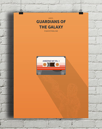 kino, Guardians of the Galaxy - plakat