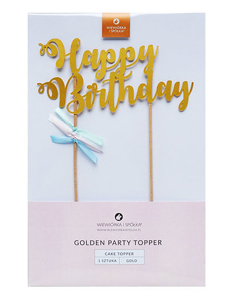 tort, Topper Happy Birthday