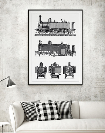 HOG STUDIO, Old Train - plakat