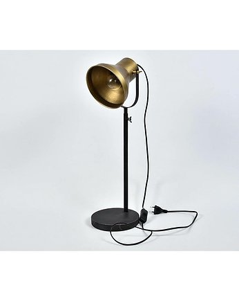 MIA home passion, Lampa Stołowa Warehouse Antique Gold