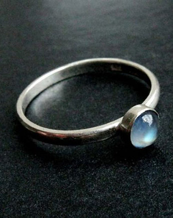 opalizacja, little moonstone - blue