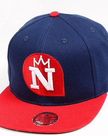 snapback, Czapka Snapback Nuff Wear - Navy & Red