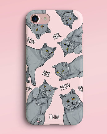 Dla zwierzoluba, British Cats Lover Case