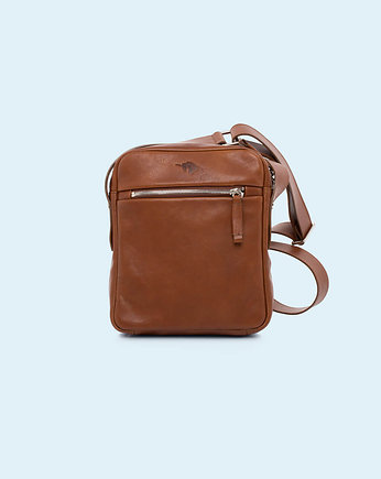 ADAM BARON, Nonconformist Messenger small bag cognac