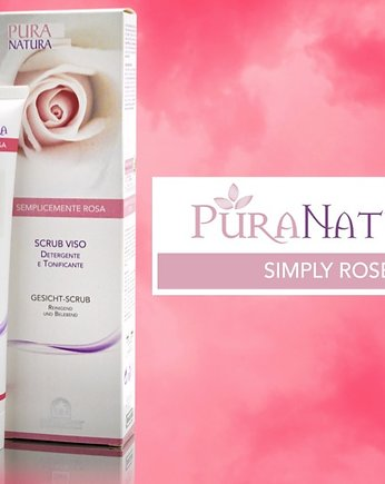 Simply Rose różany peeling do twarzy 100ml