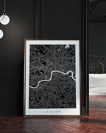 Kaszuby Mapa Regionu Plakat W Stylu Loft Plakaty