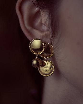 KOPI, earrings vintage collection 3/goldplated