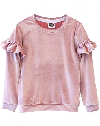 Mellow Rose, Bluza VELOUR pink