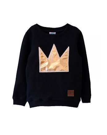 Little Gold King, Bluza GOLD CROWN black
