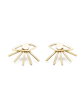 KOPI, Kopi mini eyes earrings /gold