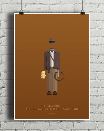 strój, Indiana Jones - plakat