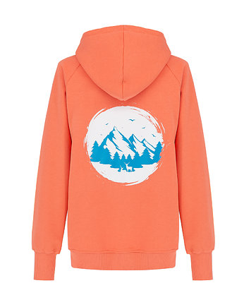 Bluza Hoodie Zip Coral Mountain