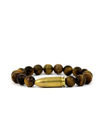 sexy, Better Wear Than Use- Tiger Eye Mat Bracelet