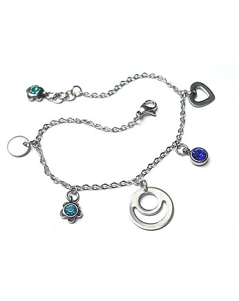 KiKa pracownia, Alloys Collection - Line Blue heart vol. 2