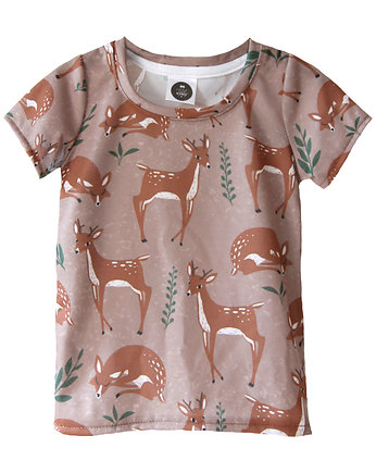 T-Shirt Roe-Deer bROWN