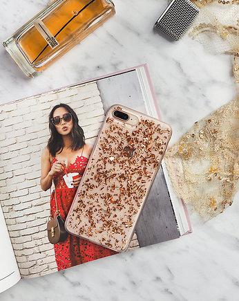 Unberry, Noble Flakes Rose Gold  Etui na telefon