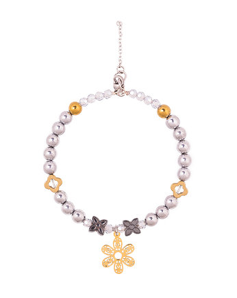KiKa pracownia, Alloys  Collection  /flower /gold/ 15-02-18
