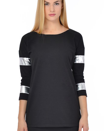 czarna bluza, Bluza Space Game Black