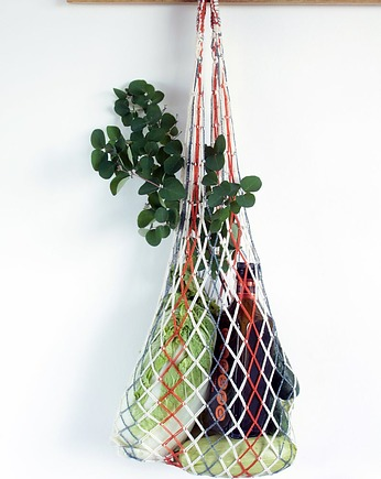 Net bag Macrame French market bag Zero waste bag