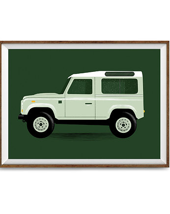 Khaki, Land Rover Defender