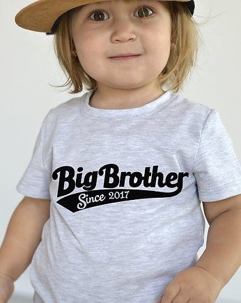 Szara koszulka  BIG BROTHER t-shirt