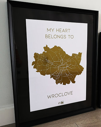 My heart belongs to Wroclove (ZŁOTY)