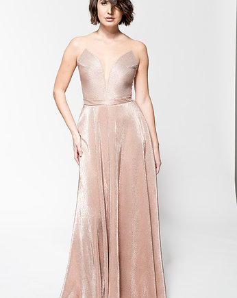 Fanfaronada, B116 body metaliczne rose gold