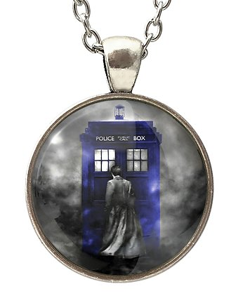 fantasy, Medalion Tardis Doctor Who