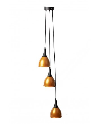 Lampa wisząca pająk BETON 6NPCZARNY lampy wiszące