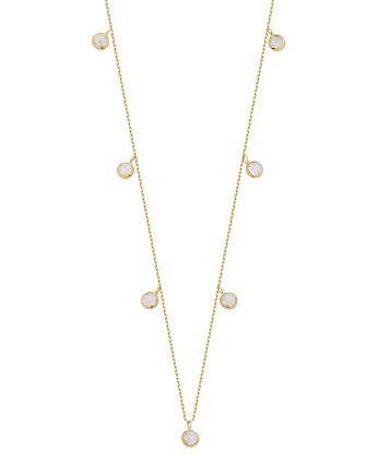 Alicja&Maria Jewellery, Choker Simple White Gold