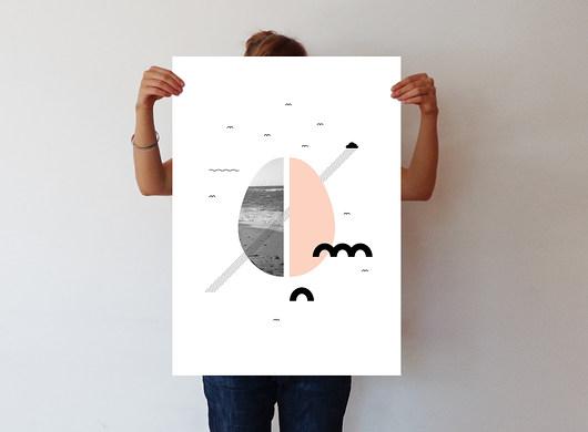 10 - ręcznie wykonana grafika - 50 x 70 - 1976704