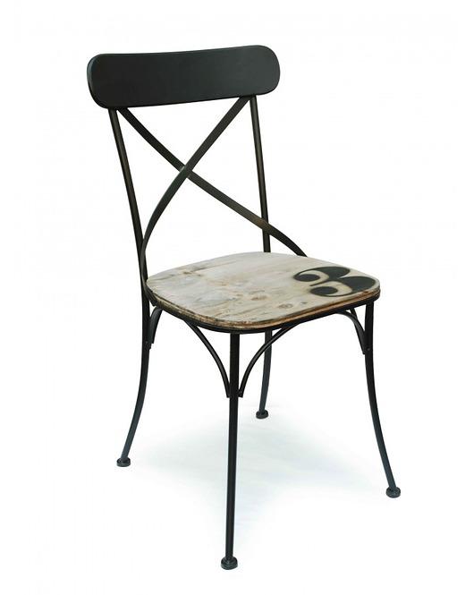 Krzesło Metalowe Czarne No3 Meble Krzesła Pakamerapl