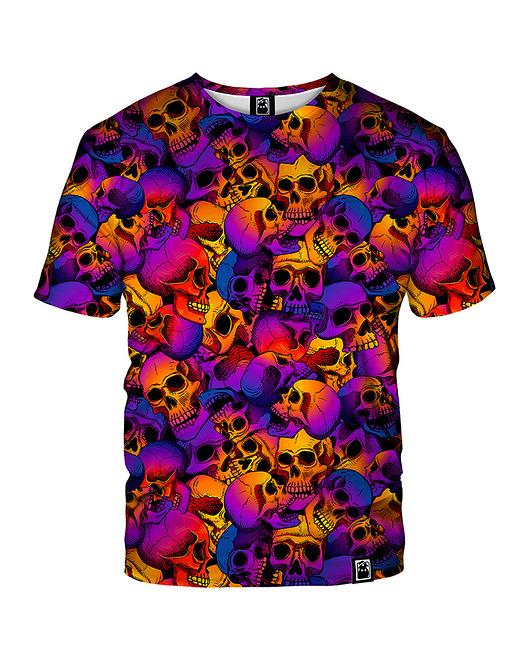 Damski T-shirt DR.CROW Skulls