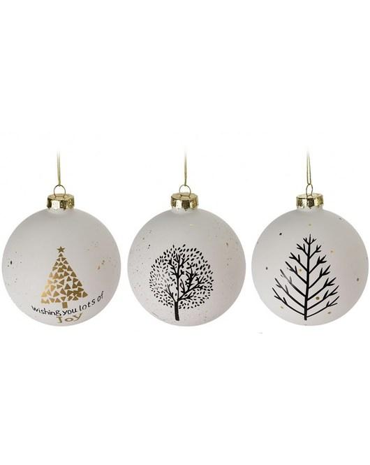Bombka 12 Szt. Christmas Trees - 1934259